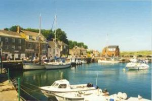 Padstow Harbour, only 4 miles from Garden Cottage Flats and Constantine Bay.